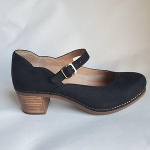 Dansko Women's Mary Jane Black shoes size 42